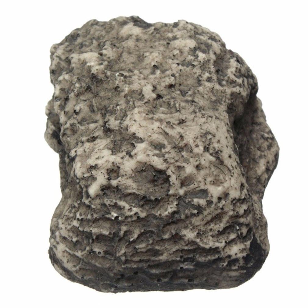 Outdoor Muddy Mud Spare Key House Safe Hidden Hide Security Rock Stone Case Box Fake Rock Holder Garden Ornament 6x8x3cm