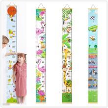 Деревянный стол и стул детей высота правителя настенный мультфильм шаблон высота измерить линейкой для график роста детей LED Настольная лампа домашний настенный Стикеры