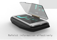 HUD Head Up Display Car HUD Navigation Mobile Phone Projector GPS Navigation Projector Phone Holder for  Samsung Huawei|Head-up Display|Automobiles & Motorcycles -