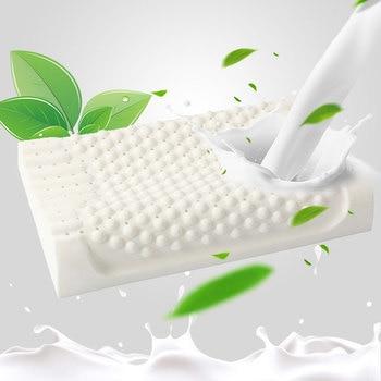 Almohada de látex Natural para el cuidado de la salud, Almohada ortopédica...