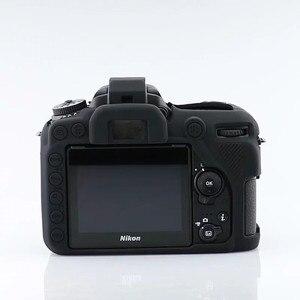 Image 2 - Silicon Armor Case DSLR Camera Body Cover Protector Bag For Nikon D7500 D810 D5500 D5600 D5300 D750 D850 D3400 D7200 Camera Bag