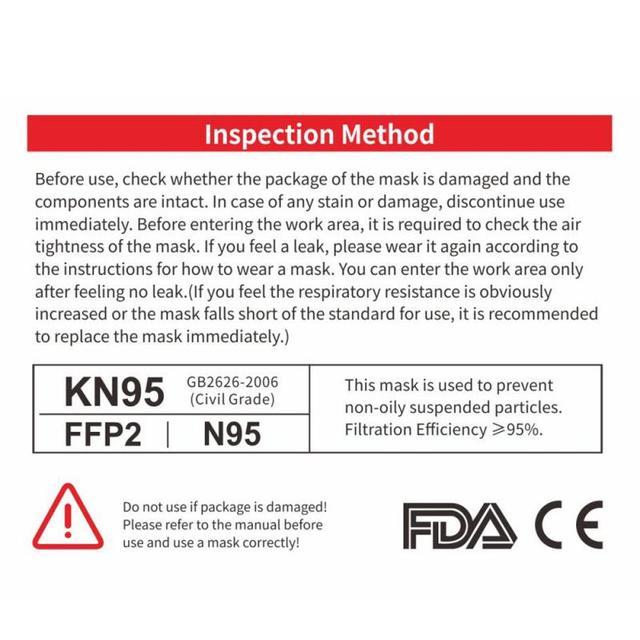 Reusable Face Mask bacteria  Filter Anti Dust Respirator FFP3 Mask N95 FFP1 FFP2 Face Mouth Masks PM2.5 Dust Mask TSLM2 6