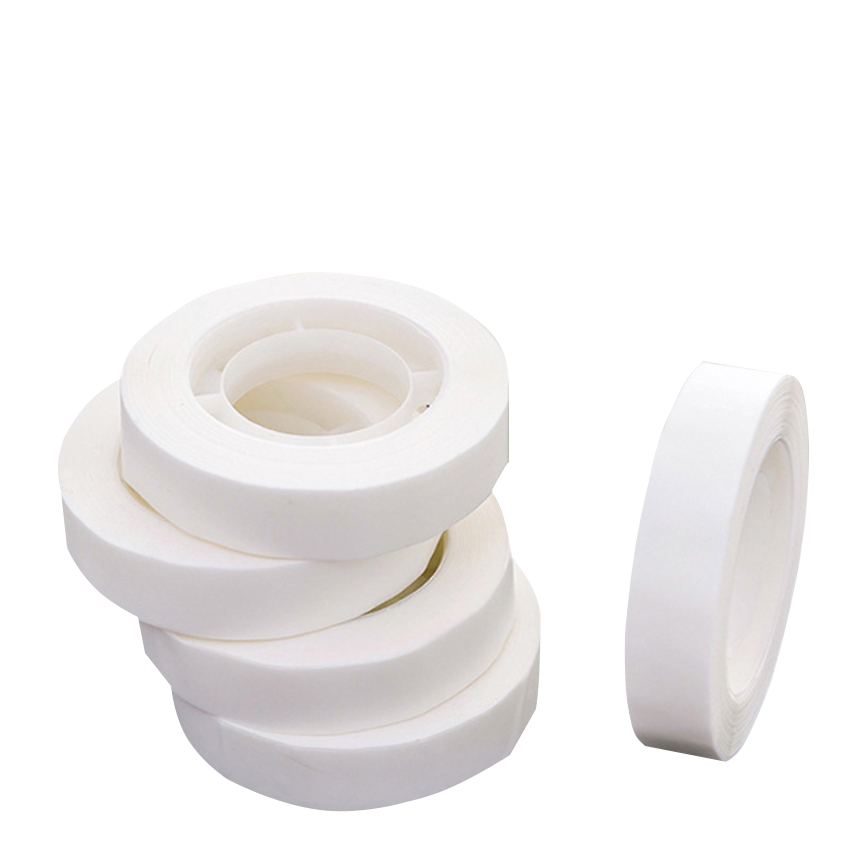 2pc/lot Magical White Non-Tearable Invisible Tape Hand Account Notebook Diary Decoration Party Washi Tape Papelaria Supplies