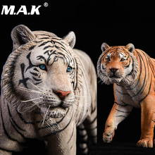 лучшая цена 41cm JXK012 1/6th Yellow/white Bengal Tiger Animal Statue Model Toy Gift Model Collection Resin Anime Figure for Fans Gift