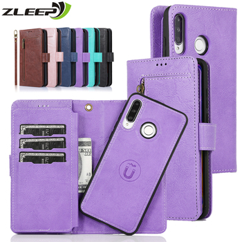 Magnetic Case For Huawei P40 P30 P20 Mate 20 30 Pro Lite Luxury Leather Capa Flip Etui Wallet Phone Book Cover Card Holder Coque