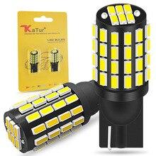 2x Led T10 W5W LED żarówka Canbus 168 194 3014 SMD klin światła parkingowe oświetlenie tablicy rejestracyjnej światła obrysowe lampy do czytania biały 12V