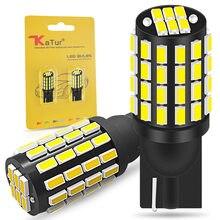 2x Led T10 W5W LED Canbus ampul 168 194 3014 SMD kama park lambası plaka lambası gümrükleme işıkları okuma lambaları beyaz 12V