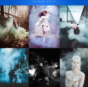 Image 3 - Accesorios de humo mágico de colores, escenario pirotécnico de fondo, estudio de fotografía, accesorios de humo, pastel, niebla, juguetes para trucos de magia