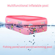 Inflatable Swimming Pool Thicken bath barrel Adults Kids folding bathtub Inflatable bathtub Inflatable Swimming Pool