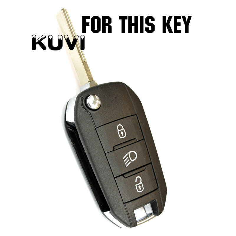 Tpu Car Remote Key Fob Shell Cover Case For Peugeot 3008 208 308 508 408 2008 307 4008 Skin Holder 2016 2017 2018 in Key Case for Car from Automobiles Motorcycles