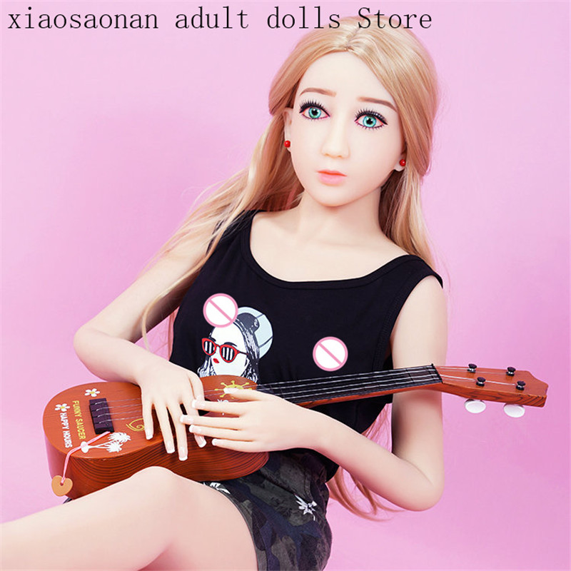 <font><b>140cm</b></font> <font><b>Sex</b></font> <font><b>Doll</b></font> Small Breast tpe Real <font><b>Doll</b></font> Adult Realistic <font><b>Doll</b></font> with Girlfriend with Oral <font><b>Sex</b></font> For Men Masturbation image