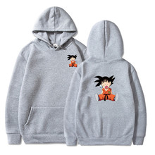 Naruto Dragon Ball Z Hoodies 3D printing Pullover Sportswear Sweatshirt Dragonball Super Saiyan Son Goku Vegeta Vegetto Outfit