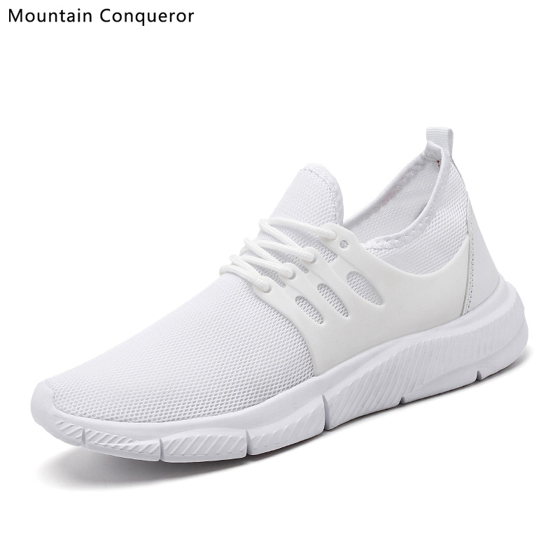ºBig SaleBreathable Shoes White Sneakers Big-Size Fashion Lightweight New Men 39-47ÿ