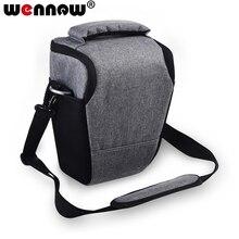 Wennew Gray DSLR Digital Triangle Camera Bag Case Cover for Nikon D7500 D750 D3500 Z6 Z 6 7 Z7 L840 L830 J5 J4 J3 P900 S