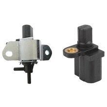 1 Pcs Vacuum Solenoid Valve Intake Manifold Runner Control & 1 Pcs ABS Car Sensor Speed Sensor