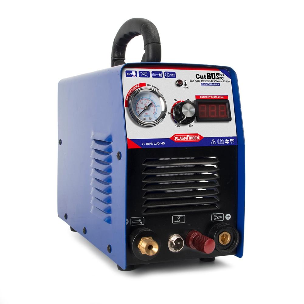 Tosense CUT60P IGBT ARC 60A AIR PLASMA CUTTER WSD-60 Plasma Cutting PILOT 110/220V