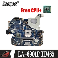 Laptop motherboard para For Acer Aspire 5750 5750G 5755 5755G PC Mainboard P5WE0 LA-6901P tesed DDR3