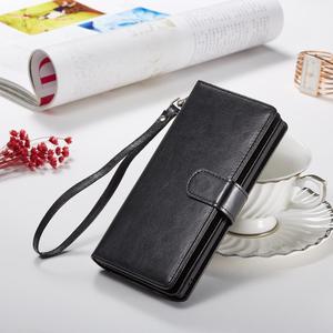 Image 2 - 2 en 1 Magnétique portefeuille en cuir synthétique polyuréthane étui pour samsung Galaxy Note 10 Plus 8 9 S10 Plus S10e S9 S8 Plus 9 Fentes Pour Cartes Flip Stand Sac