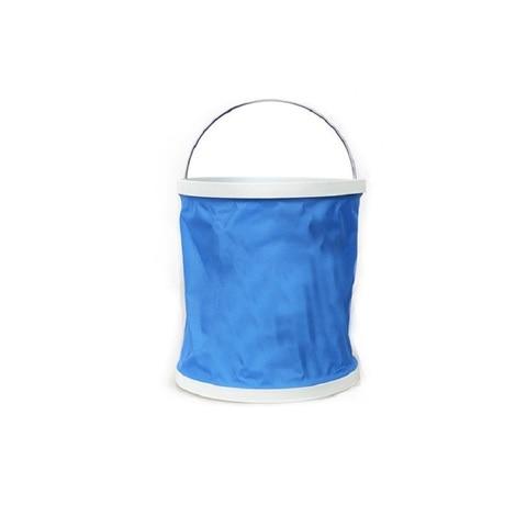 11l portatil dobravel multifuncional balde de lavagem carro engrossado balde acampamento ao ar livre balde