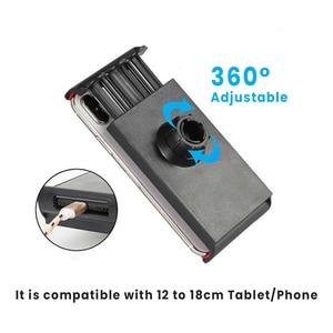 Image 5 - Держатель планшета, длинный кронштейн для Ipad 2 3 4 Air Mini Phone, подставка для планшета, 110 175 мм, ширина устройства