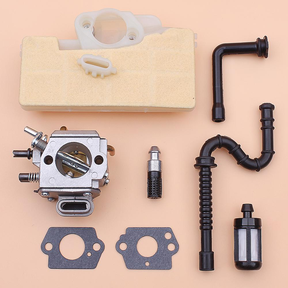 Carburetor Carb For Stihl MS390 MS290 MS310 039 029 Air Fuel Oil Filter Line Hose Chainsaw 1127 120 0650