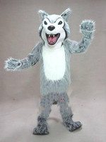 Big Wolf Mascot Costume Suits Cosplay Party Game Dress Outfits Clothing Advertising Promotion Carnival Halloween Xmas Fursuit
