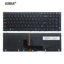 Retroiluminado EUA teclado do portátil para Clevo P651 P651SE P655 P671 P655SE P671SG P650HP3 P650 P670RE3 P670RG P650RE3 P650RE6 P650RG