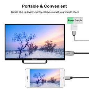 Image 4 - IOS الهاتف HDMI كابل HDTV USB AV محول الصوت والفيديو الناقل الحبل آيفون 11 12 5 6 7 8 Plus X XS ماكس XR باد الاتصال إلى التلفزيون