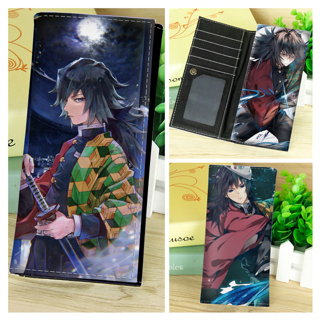 Demon Slayer Kimetsu no Yaiba Long Short Wallet Foldable