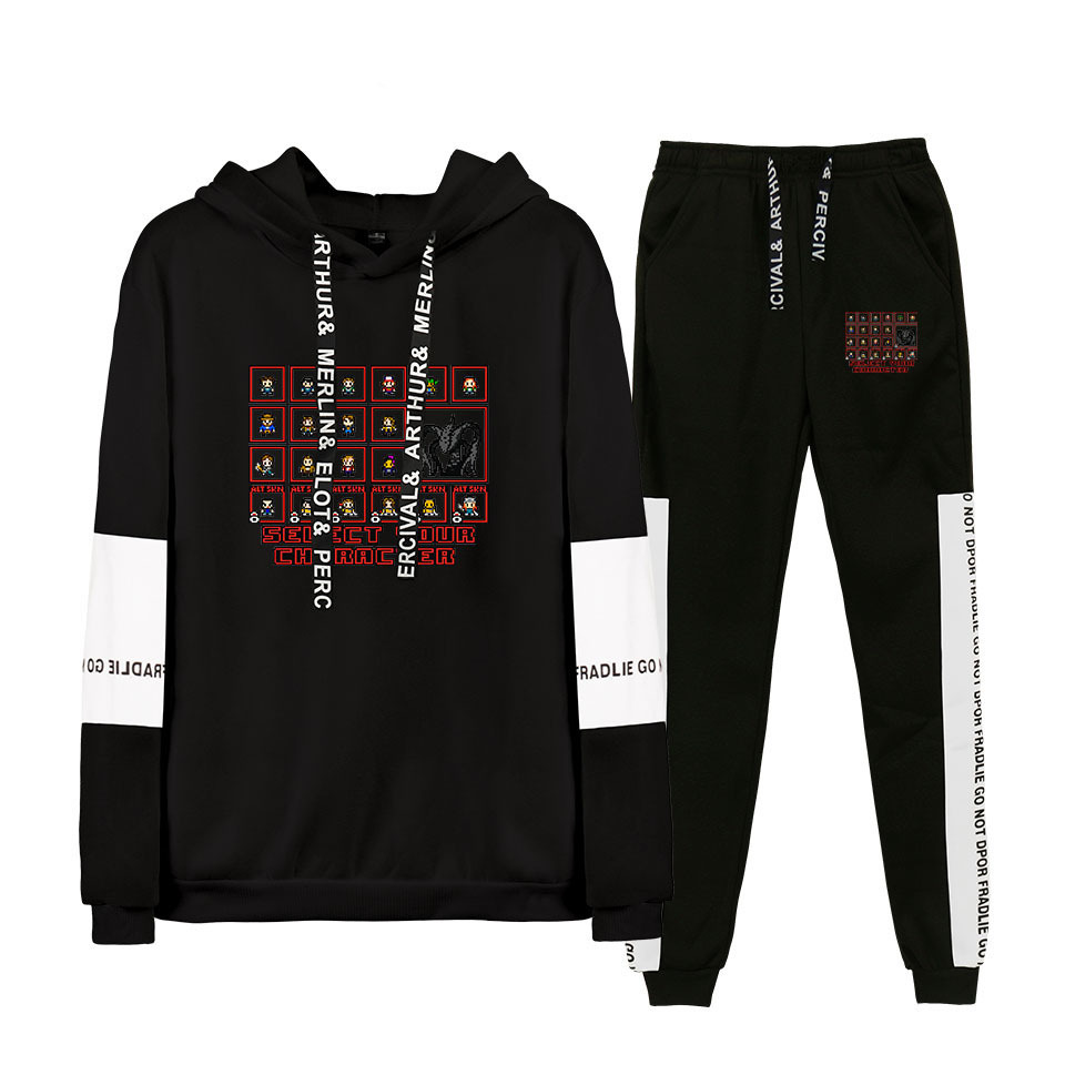 Hot Sales 2019 New Style Stranger Things Strange Story Men And Women Sports Joint Hoodie Suit