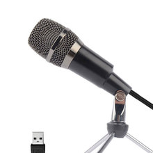 Professional USB Plug-and-play Capacitor  For Singing broadcasting Microphone With Tripod Stand