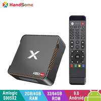 A95X Max Smart TV Set top Box Amlogic S905X2 Android 8.1 8K 4GB RAM 64GB ROM with Video Recording Support SSD/HDD Media Player