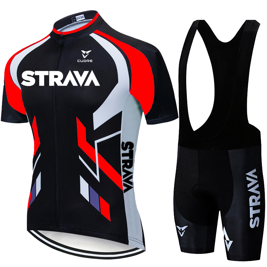 Jersey-Sets Short-Sleeve Cycling-Clothing Bicycle Strava-Cycling Bike-Maillot Fluorescent