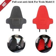 Tapis de protection Anti-coup de pied pour tesla modèle y3, 2 pièces, housse de siège arrière