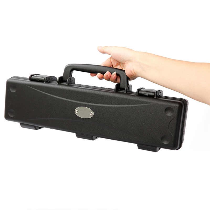 410X95X65 Mm Toolbox Tahan Air Keselamatan Peralatan Instrumen Case ABS Disegel Portabel Dampak Tahan Kering Kotak Alat dengan Busa