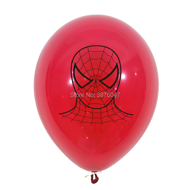 3d spiderman balloons kids boy super hero birthday spiderman party decorations happy birthday spider mask printed balloons 3