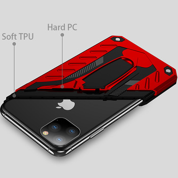 WEFIRST Rugged Hard PC Case for iPhone 11/11 Pro/11 Pro Max 1