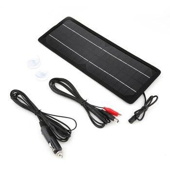 Carregador De Bateria De Carro Solar Portátil Painel Solar Trickle Ao Ar Livre Longa Distância Carregador De Viagem Com Isqueiro Plug #10