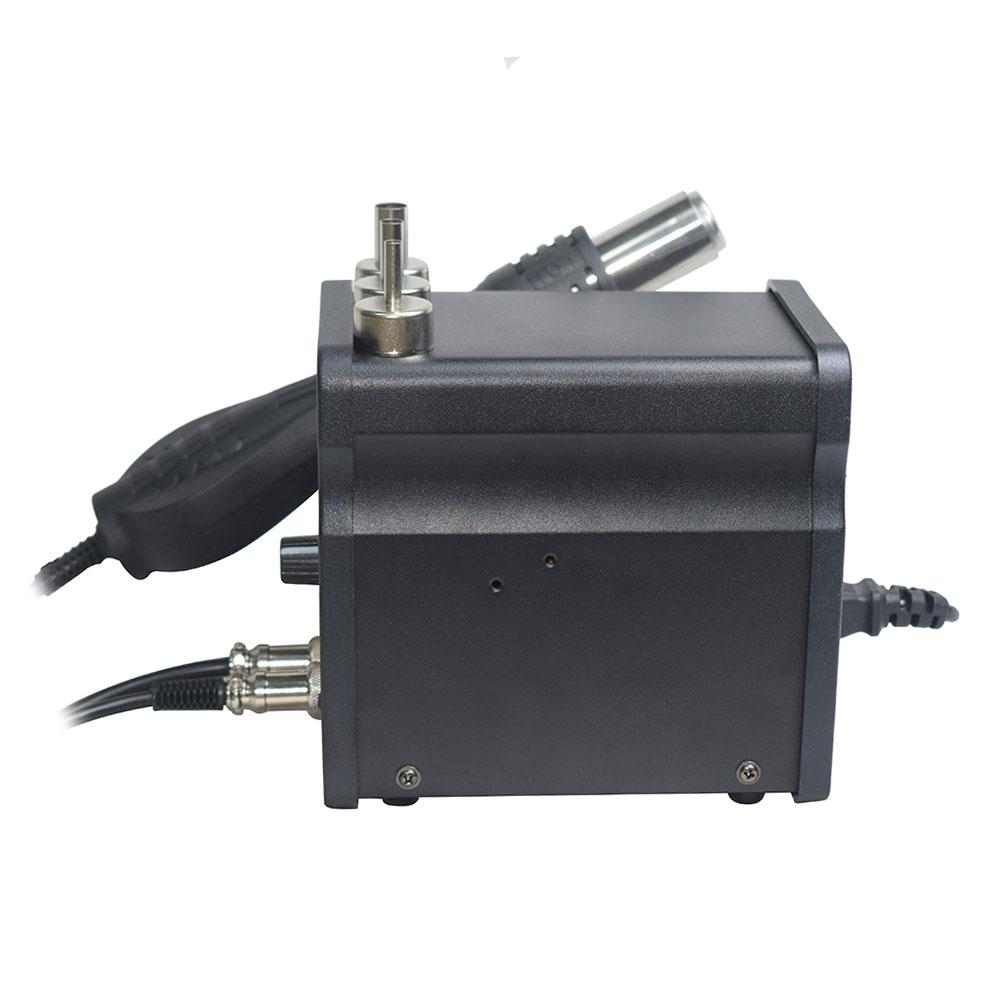 110 / 220V 750W 2 in 1 SMD įrangos perdarymo stotis Eruntop 8586 - Suvirinimo įranga - Nuotrauka 2