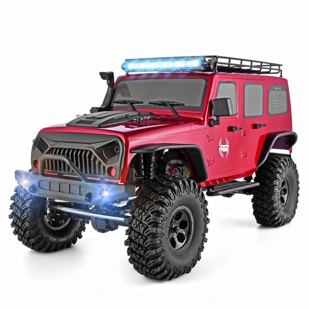 Rgt rc rastreador escala 1:10 4wd rc carro fora da estrada monstro caminhão rc rock cruiser ex86100 hobby rastreador rtr 4x4 à prova dwaterproof água rc brinquedos