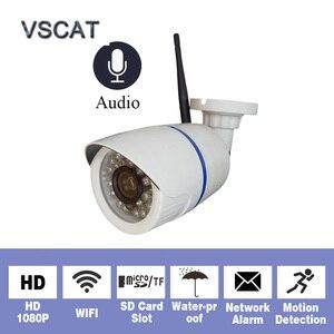 HD 1080P 2MP Audio Wireless IP Camera WiFi 720P Outdoor Night Vision Camera Surveillance Security Waterproof Onvif IP Cameras