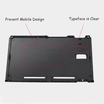 For Nintend Switch NS Console Replacement Housing Shell Case for  Switch Front Back Faceplate Cover 4