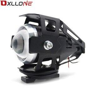 Image 3 - 가와사키 닌자 h2r ZX 6R ZX 6R 몬스터 에너지에 대 한 스포트 테일 램프 안개 빛을 운전하는 범용 12 v 오토바이 금속 led 미등