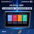 Xonrich автомобильный мультимедийный плеер 2 Din Android 10 для VOLVO S60 V70 XC70 XC90 2000 2001 2002 2003 2004 Авто GPS NavigationDVD