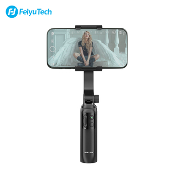 FeiyuTech Vimble One  Feiyu Handheld Gimbal Smartphone Stabilizer Extendable Pole Tripod for iPhone 11 XR  XIAOMI Samsung Huawei feiyu fy spg live 3 axis brushless handheld gimbal stabilizer for gopro5 iphone smartphone