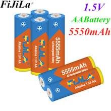 Bateria recarregável da bateria 2020 5555 v aa 1.5 mah alkaline1.5v do aa da bateria 5550 do lote para a bateria recarregável da câmera dos brinquedos do relógio