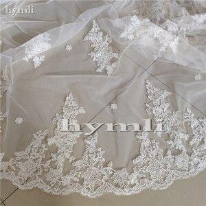 Image 4 - Cape de mariée en dentelle cathédrale longueur accessoire de robe de mariée en blanc, blanc cassé, ivoire, nouvelle collection