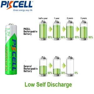 Image 5 - 10 個pkcell aa 2200mahバッテリ 1.2vニッケル水素単三充電式電池 2A precharge lsd電池ニッケル水素のためのカメラおもちゃ