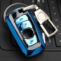Высокое качество ABS автомобильный чехол для ключей авто защитный чехол для BMW F07 F10 F11 F20 F25 F26 F30 аксессуары держатель с брелоком
