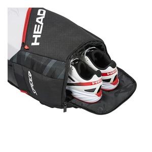 Image 3 - 원래 머리 테니스 가방 테니스 라켓 스쿼시 배드민턴 셔틀콕 가방 테니스 배낭 테니스 라켓 배낭 Tenis Bolso